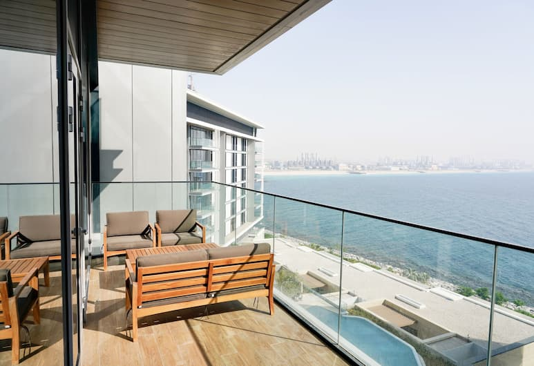 One Perfect Stay-Beach Front Blue Waters, Dubajus