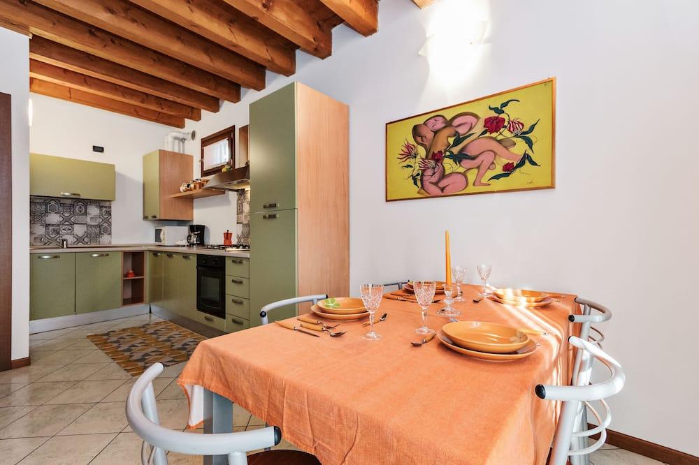 公寓, 1 間臥室, 露台 - 客房內用餐