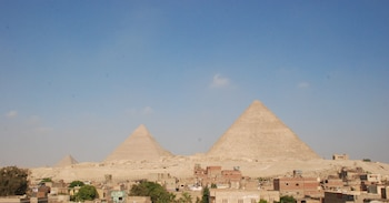 Picture of Sunny Pyramids View in Giza