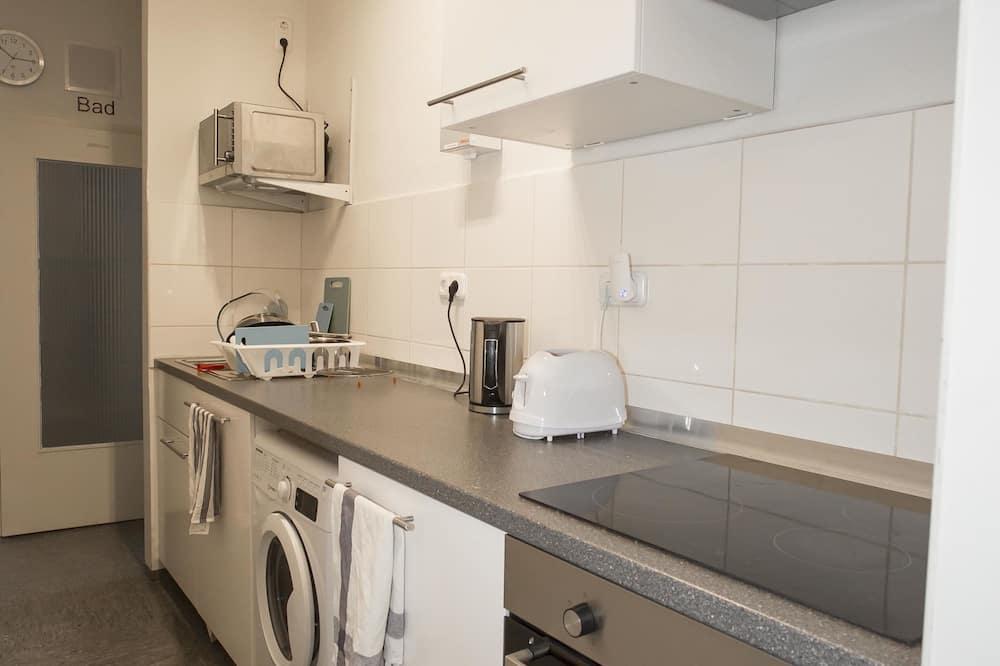 غرفة فردية - بحمام مشترك (London) - مطبخ مشترك