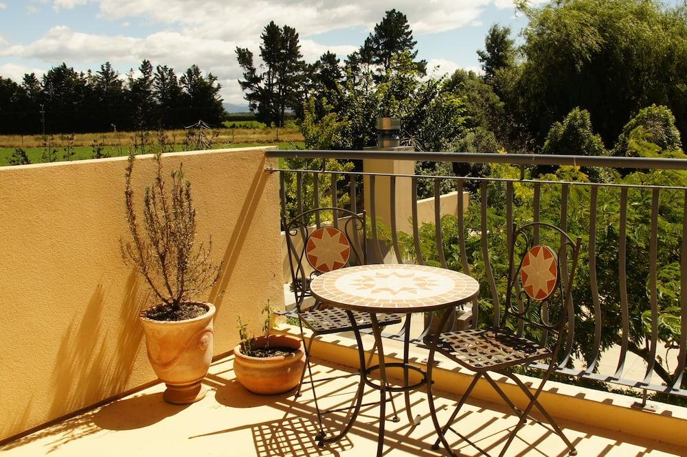 Superior tweepersoonskamer (Luxury Oak Room) - Uitzicht vanaf balkon