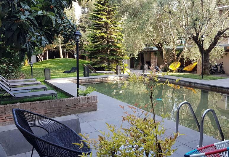 Fauno Urban Resort, Rome, Buitenzwembad