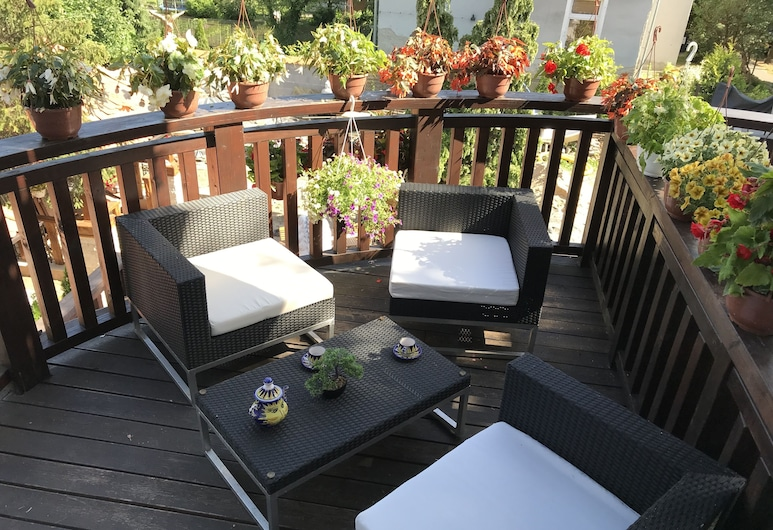 Dworek Oliwski, Gdansk, Dobbeltrom – superior, Terrasse/veranda