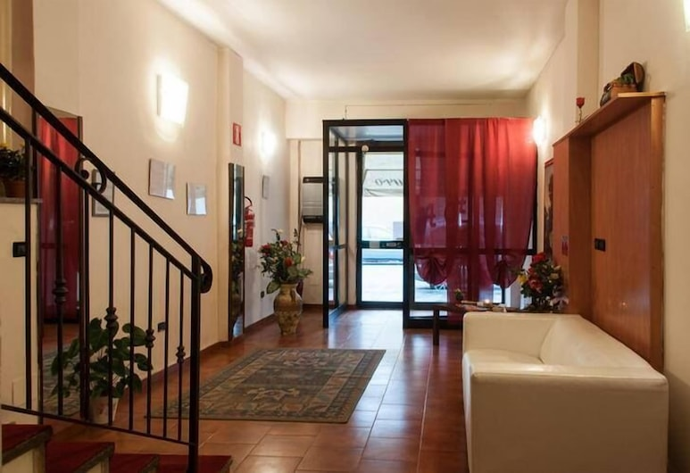 Hotel Galimberti, Torino, Salottino della hall