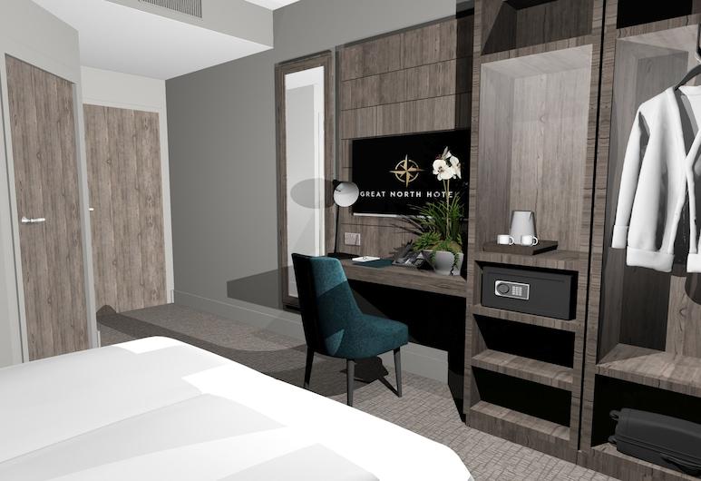 Great North Hotel, Newcastle-upon-Tyne, Habitación Deluxe con 2 camas individuales, Habitación