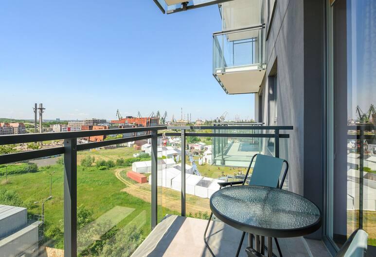 Apartamenty Apartinfo Bastion Walowa, Gdansk, Leilighet, 1 soverom (4 adluts - 50), Balkong