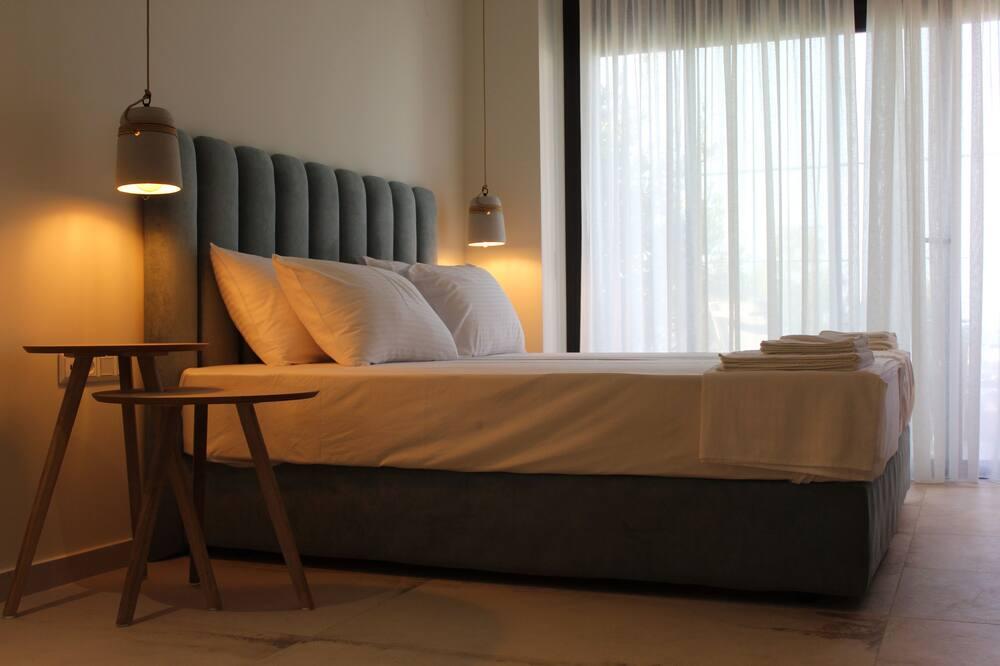 Paaugstināta komforta divvietīgs numurs, skats uz jūru - Dzīvojamā zona