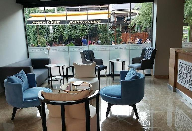阿卜杜拉艾多根天堂酒店, 艾爾金疆, 大堂閒坐區
