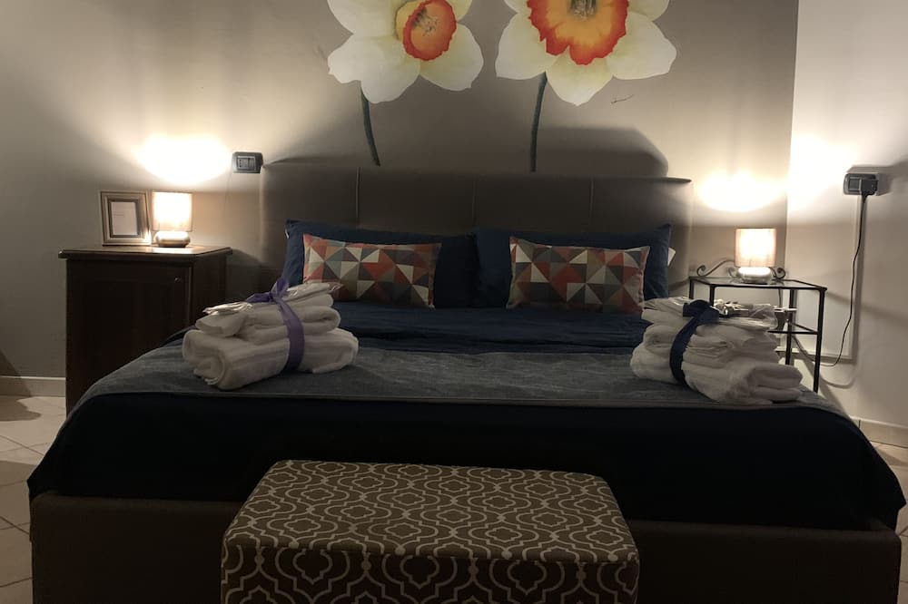 Deluxe Τρίκλινο Δωμάτιο (Narcisi) - Δωμάτιο επισκεπτών
