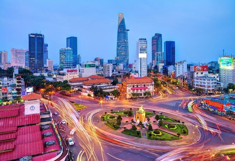 RedDoorz @ Cong Hoa Street, Πόλη του Χο Τσι Μινχ, Αίθριο/βεράντα