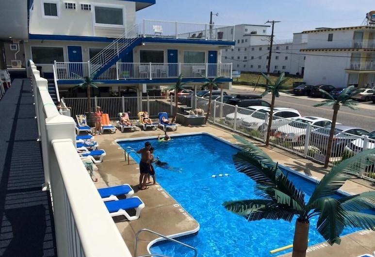 The Blue Marlin Resort, Wildwood Crest, Bazén