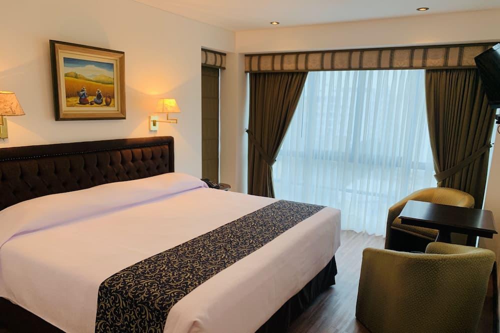 ห้องดับเบิล, เตียงควีนไซส์ 1 เตียง - ห้องพัก