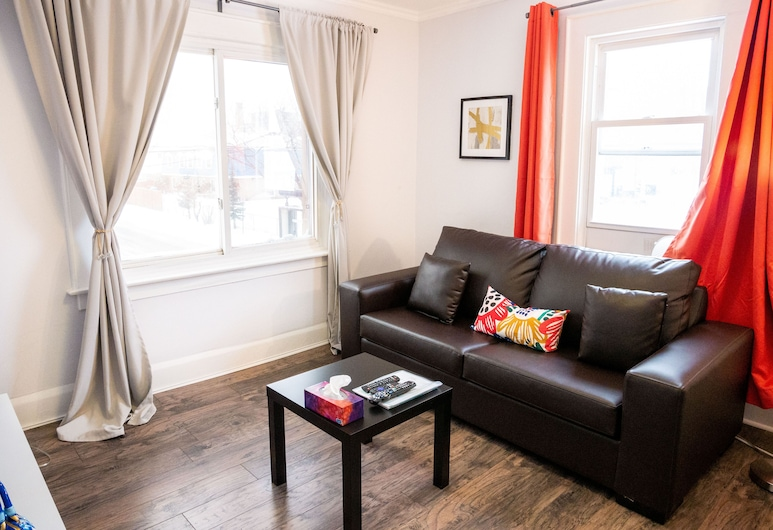 Clifton Hill Stays, Niagara Falls, Appartement Familial (Apartment 1), Chambre