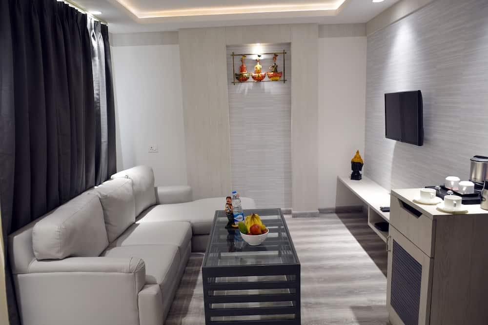 Familiesuite - Spisning på værelset