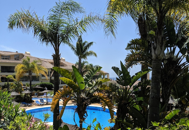 Las Olas Riviera, Mijas, Departamento Elite, baño privado, vista a la piscina (Las Olas Luxury), Alberca