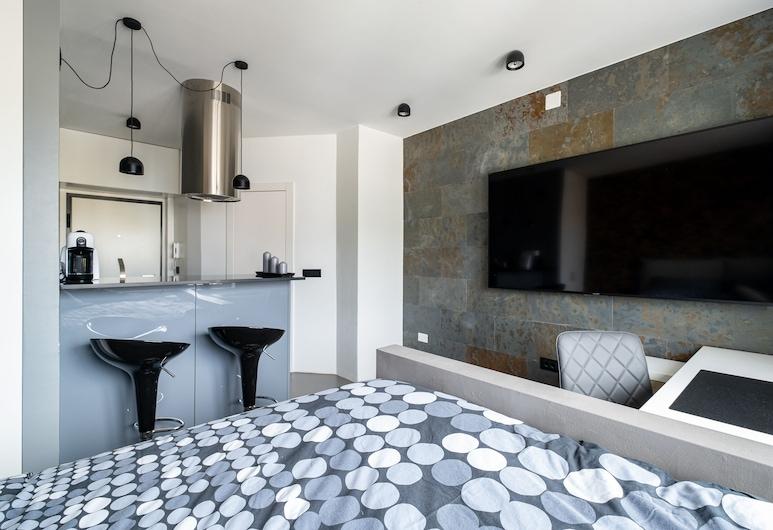 Hermoso estudio de diseño en el centro de Nova Gorica, a tiro de piedra de todo, Nova Gorica, Habitación