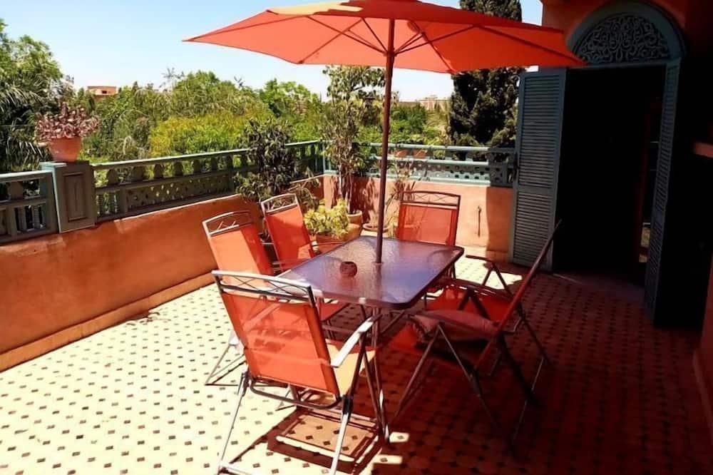 Deluxe-Villa - Balkon