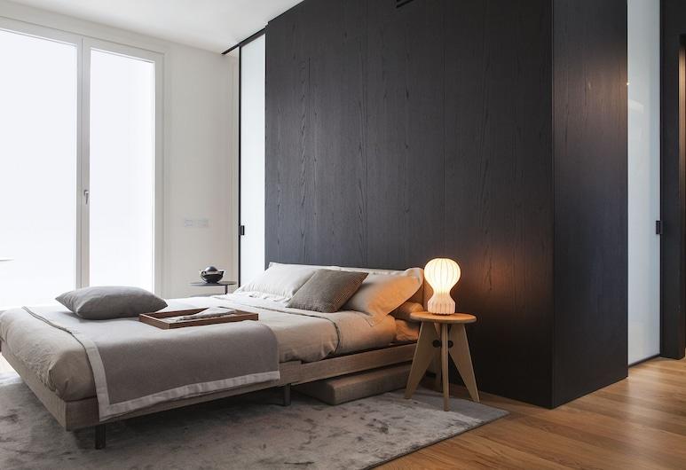 Bmore Apartments, Milaan, Luxe appartement (5.5), Woonruimte