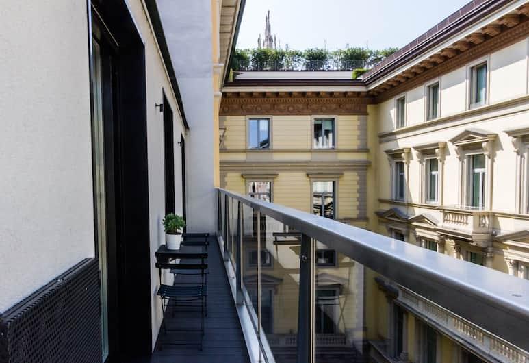 비모어 아파트먼트, 밀라노, Suite Luxury Apartment, 발코니