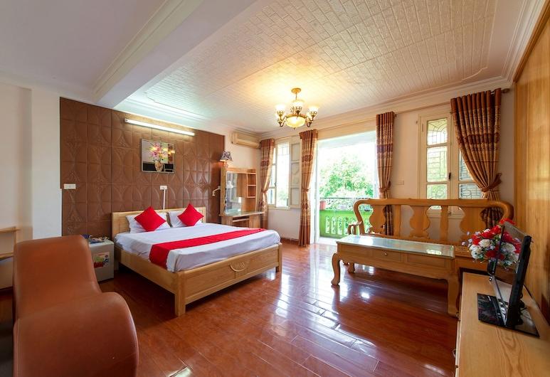 OYO 546 Thu Do Vang 12, Hanojus, Pagerinto tipo keturvietis kambarys, Vaizdas iš svečių kambario