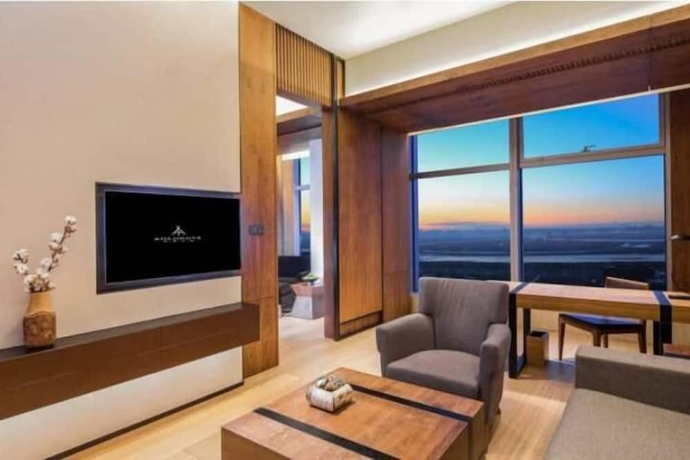 Familien-Suite - Wohnbereich