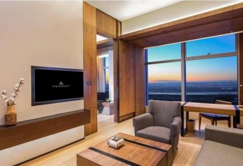 Harbin Chief Mariaso Suite Hotel, חרבין, סוויטה משפחתית, אזור מגורים