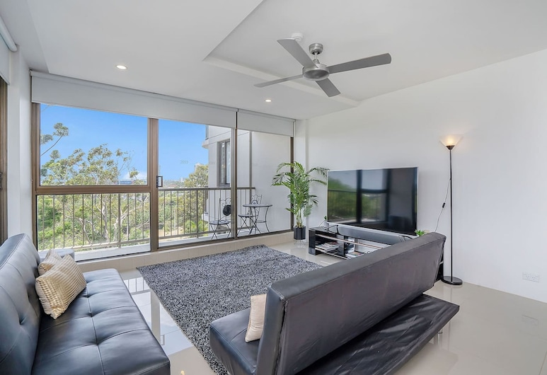 Grand, Bright, Modern Home, Surfers Paradise, Διαμέρισμα, 2 Υπνοδωμάτια, Μη Καπνιστών, Περιοχή καθιστικού