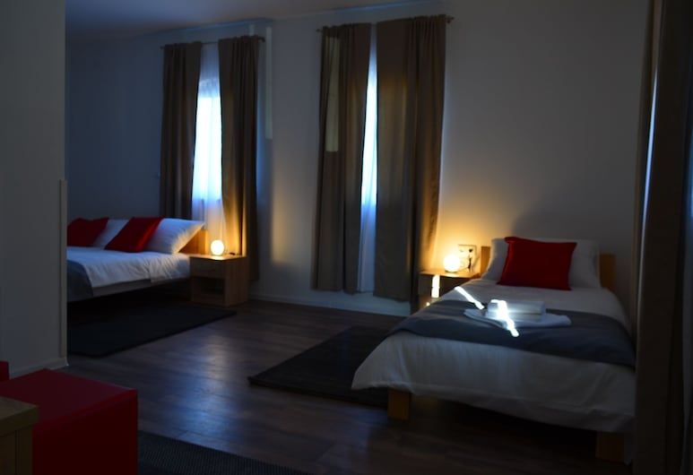自然普利特維采湖濱酒店, 普利特維採湖群, 豪華三人房, 客房