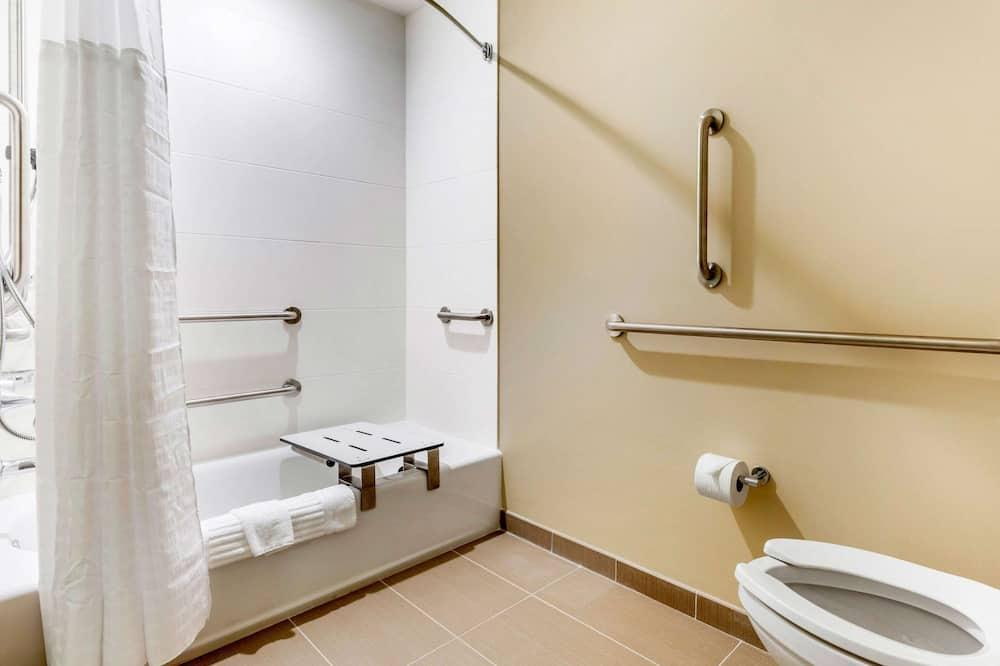 Tuba, 2 laia voodit, erivajadustele kohandatud, suitsetamine keelatud - Vannituba