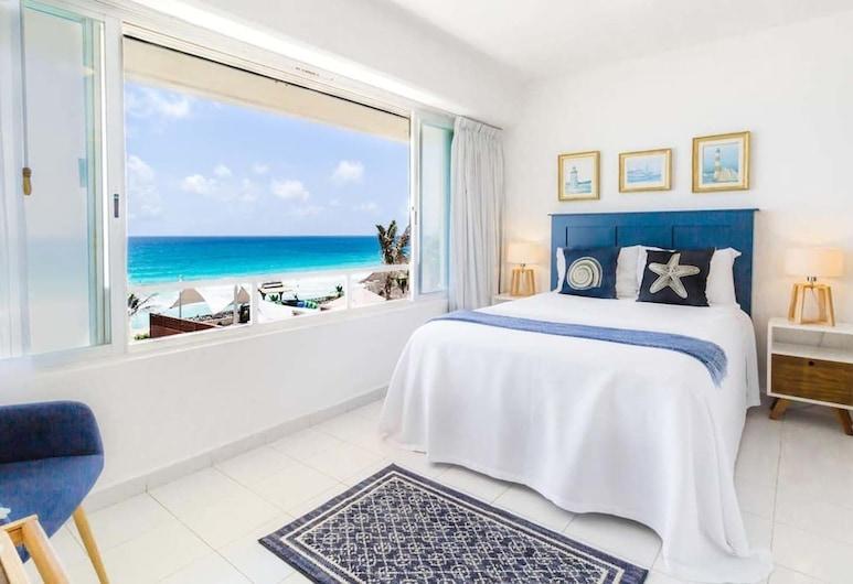 Ocean View 3 Bedroom apartment, Cancun, Deluxe apartman, Szoba