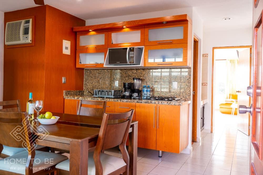 Junior Σουίτα - Ιδιωτική κουζίνα