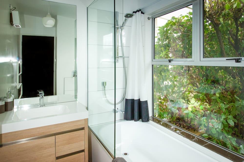 Ferienhaus, 4Schlafzimmer, Nichtraucher - Badezimmer
