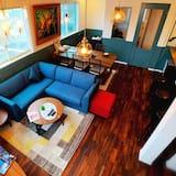 Dvivietis kambarys (2 viengulės lovos) (4) - Svetainės zona