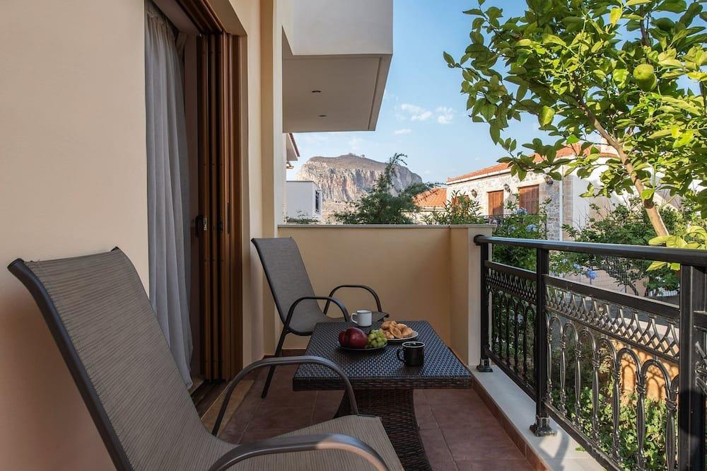 Люкс, балкон - Вид с балкона