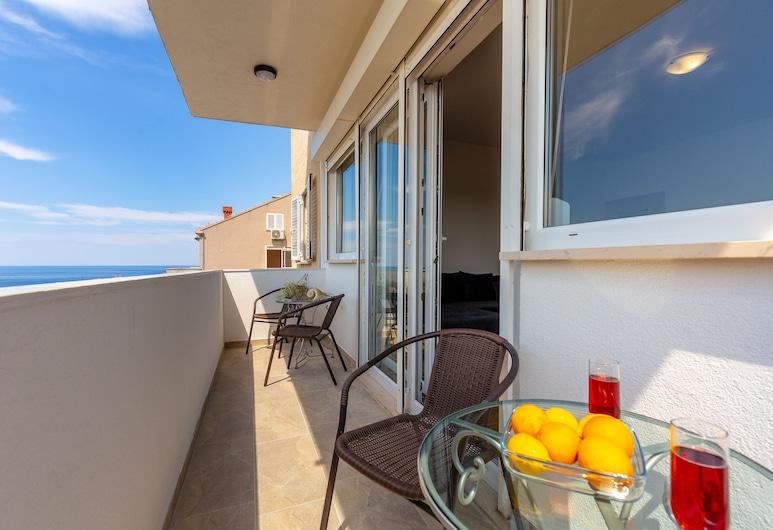 Hedera Estate, Hedera A46, Dubrovnik, Apartamento urbano, Sacada, Vista para o mar (2 Bedrooms), Varanda