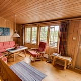 Cabin, 2 Bedrooms - Living Area