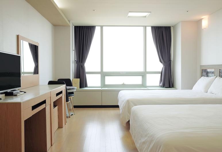 仁川機場特拉住宅飯店, 仁川, 豪華雙床房, 客房