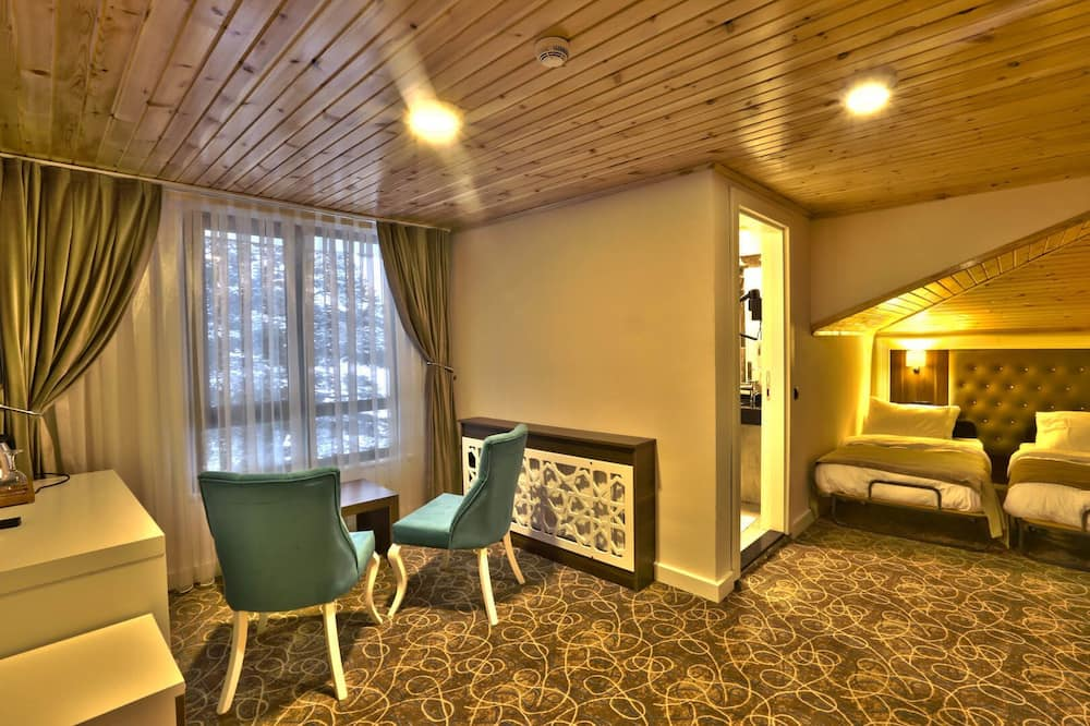 Standard Double or Twin Room, Mountain View - Living Area