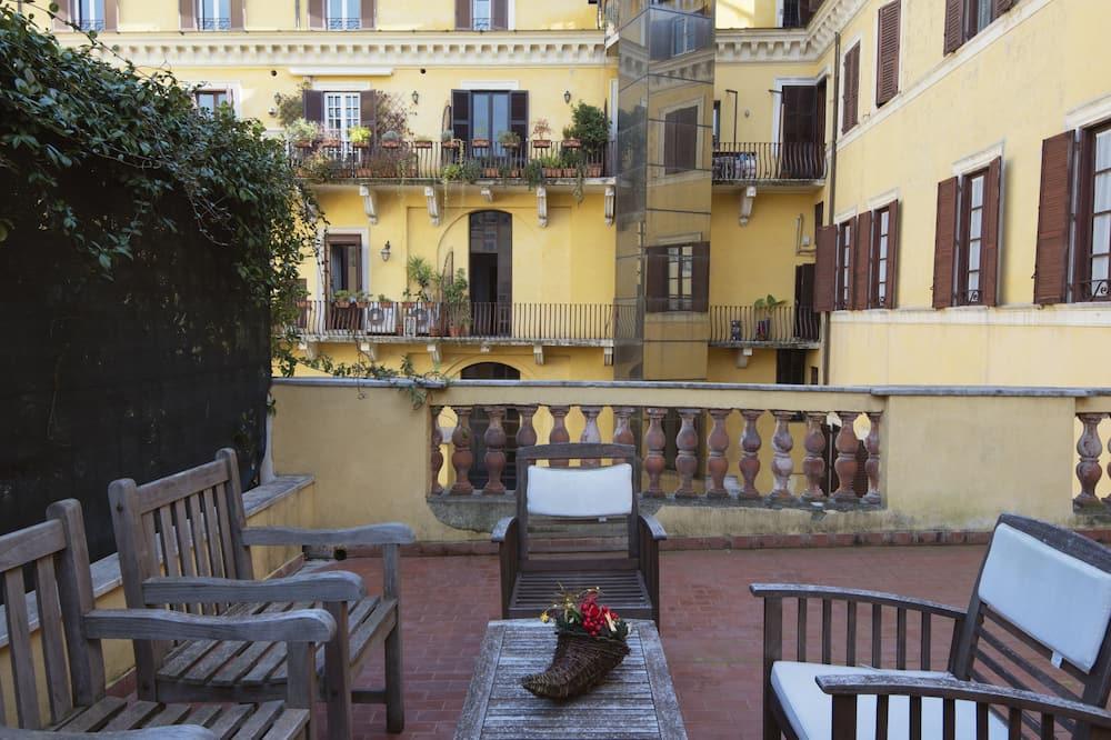 apartman, 1 hálószobával, terasz - Terasz/udvar