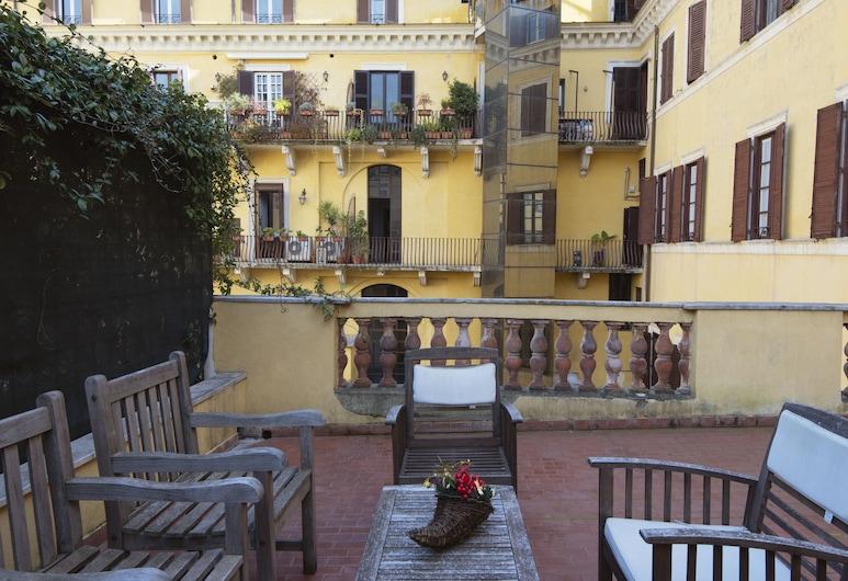 Domus Artis , Rome, Appartement, 1 slaapkamer, terras, Terras