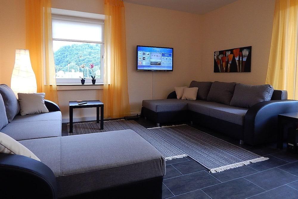 Appartement Confort, 2 chambres (left) - Coin séjour
