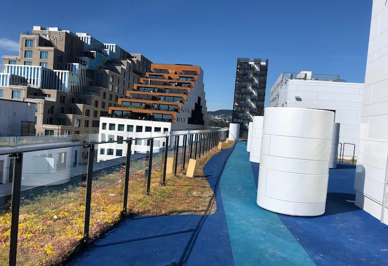 Bjorvika City Apartments, Oslo, Terrasse/veranda