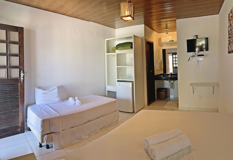Pousada Brasil Caribe, Morro de Sao Paulo, חדר סטנדרט, חדר אורחים