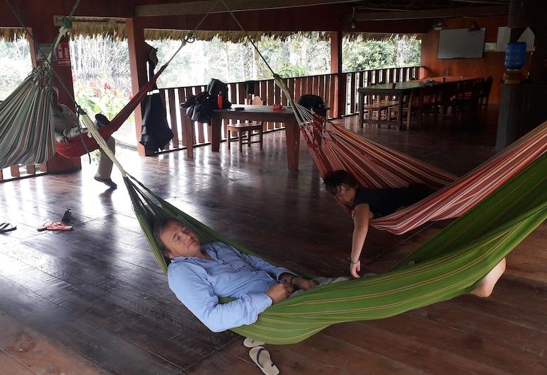 Kichwa Amazon Lodge, Cuyabeno Wildlife Reserve, Economy-herbergi, Stofa