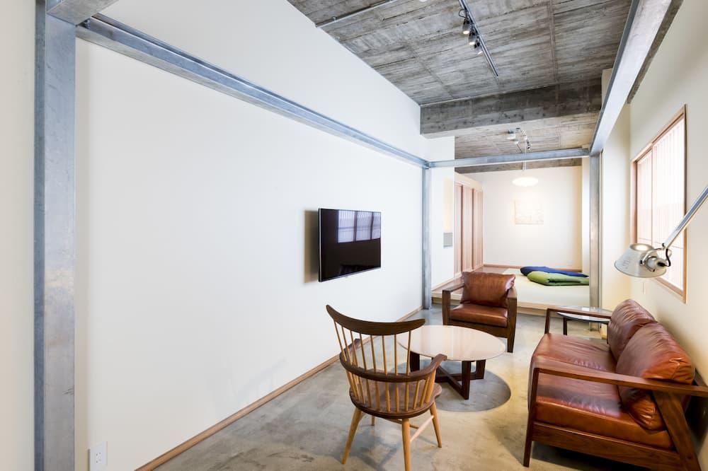 Pokój rodzinny, dla niepalących, prywatna łazienka (KAZU) - Salon