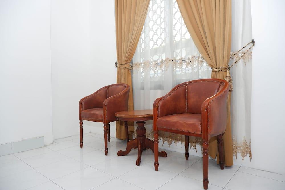 Pokój z 2 pojedynczymi łóżkami typu Deluxe - Powierzchnia mieszkalna