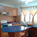 Vienvietis kambarys su pagrindiniais patogumais - Virtuvė viešbučio kambaryje