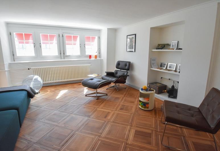AirHosted Zurich City Center, Zürich, Lägenhet Comfort - 1 sovrum, Vardagsrum