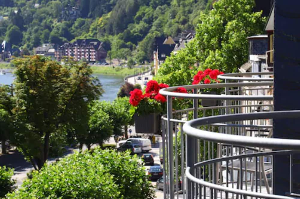 Superior tweepersoonskamer (frz. Balkon Moselseite) - Balkon
