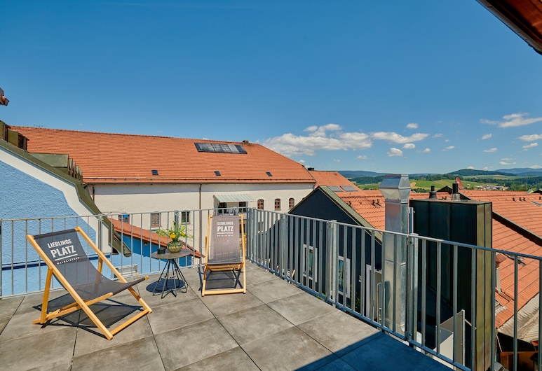 Herzstück-Waldkirchen, Waldkirchen, Luxury Suite, Balcony (Sauna), Terrace/Patio